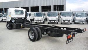 Место модели в линейке грузовиков Исудзу и на российском рынке