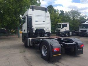 Подвеска MAN TGX 18.400 4x2 BLS