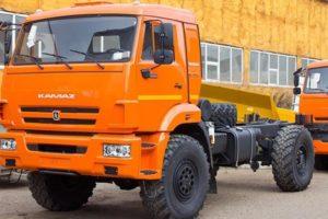 КамАЗ-43502: технические характеристики