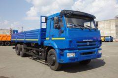 КамАЗ-65117: технические характеристики