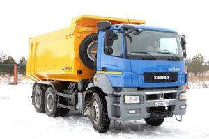 КамАЗ-6580: технические характеристики
