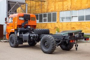 Модификации КамАЗ-43502