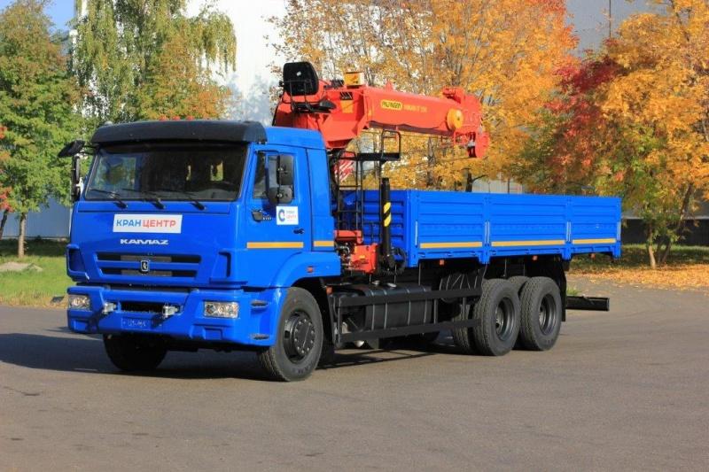 Модификации КамАЗ-65117-02