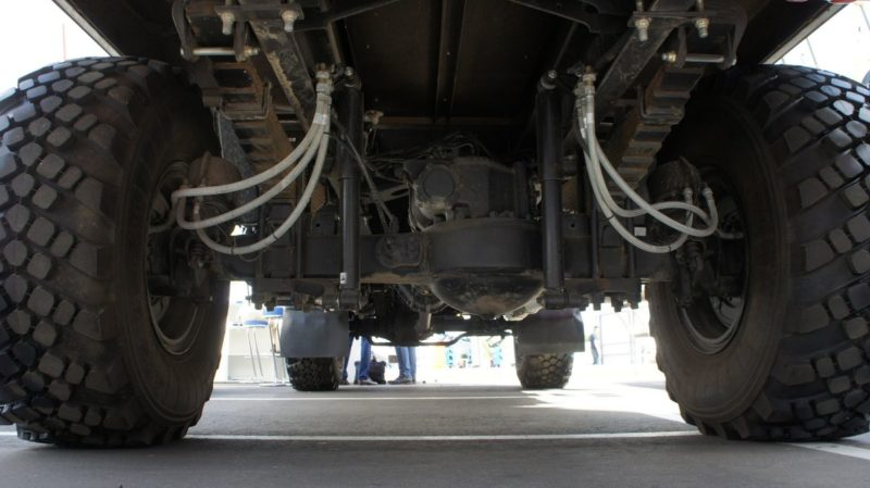 Об устройстве и комплектации КамАЗ-43502