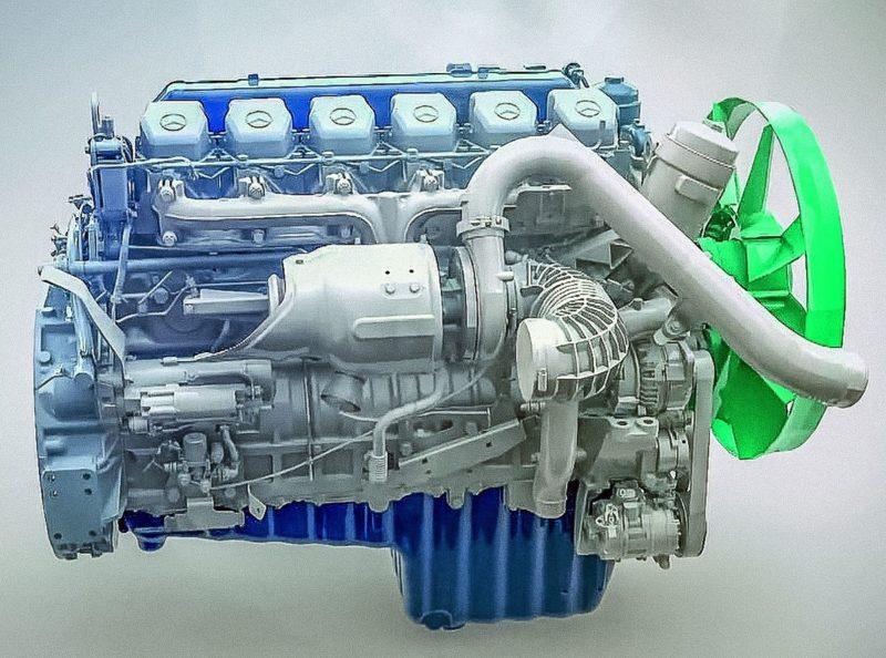 Двигатель КамАЗ-5490