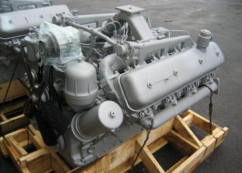 Двигатель КрАЗ-250