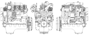 Двигатели МА3-4З70 «3убрёнок»