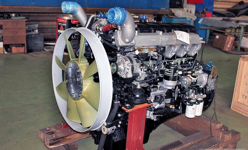 Двигатели МАЗ-6312