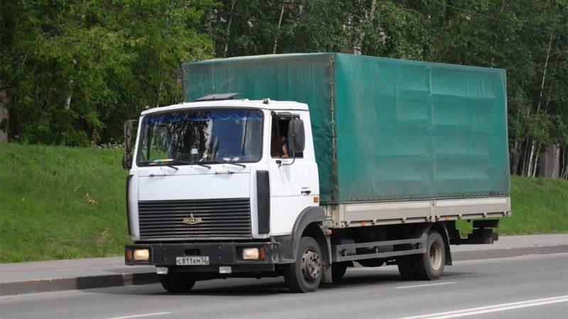 Стоимость грузовика МА3-4З70 «3убрёнок»