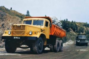Подробнее о северных модификациях самосвалов КрАЗ-256 / 256Б / 256Б1