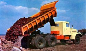 Варианты и модификации самосвала КрАЗ-256
