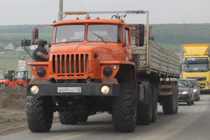 Ходовая часть Урал-44202