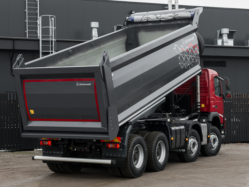 Отзывы о грузовиках Volvo FMX 8x4