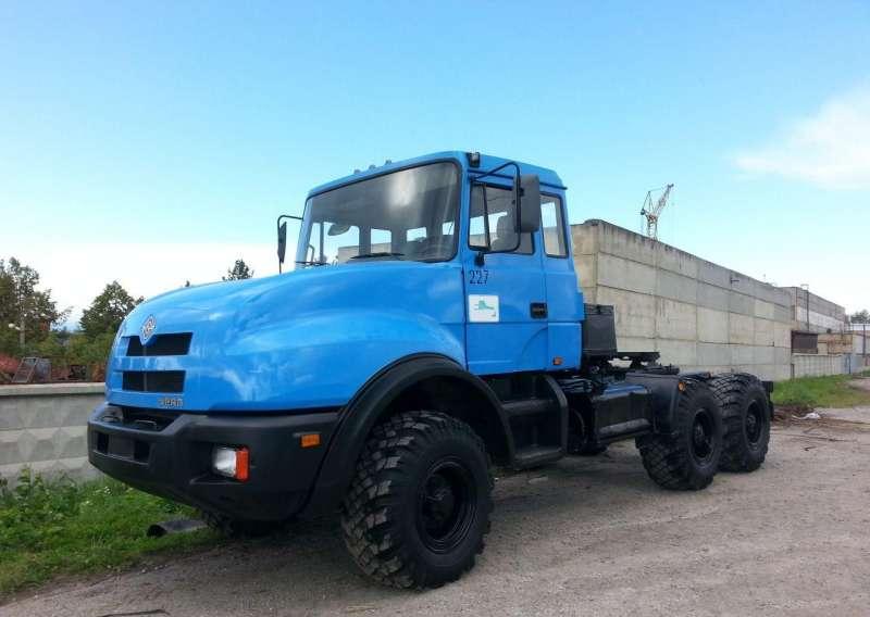 Переходные модели седельных тягачей Урал-44202