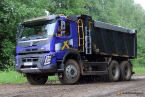 Серия Volvo FMX: варианты исполнения