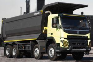 Volvo FMX (8x4) технические характеристики