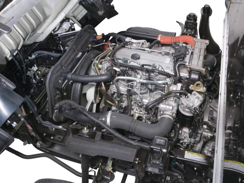 Двигатель автомобиля Isuzu NPR75