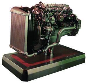 Двигатель Volvo FL6