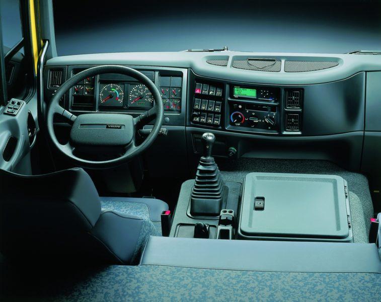 Кабина Volvo FL6