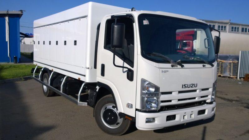 Отзывы о грузовых автомобилях Isuzu NPR75
