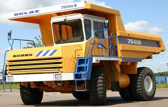 Модификации БелАЗ-7540