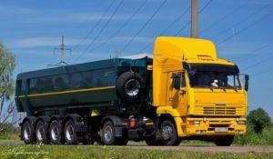 Первая модернизация: 2006 год, КамАЗ-5460-046-22 «Стайер»