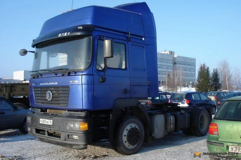 Вторая модернизация, 2010 год: КамАЗ-5460-63