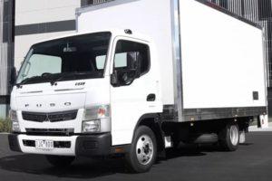 Mitsubishi Fuso Canter: технические характеристики