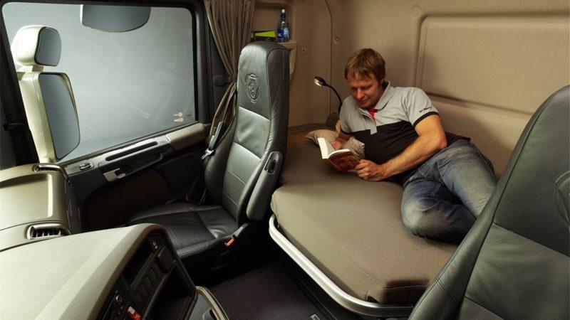 Кабина грузовиков Scania R500-01
