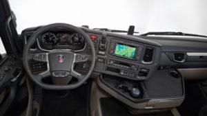 Кабина грузовиков Scania R500