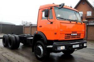 КамАЗ-53229: технические характеристики