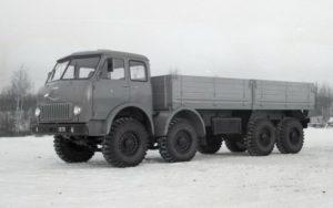 Об истории семейства МАЗ-6516-01