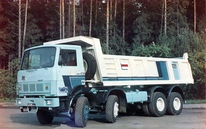 Об истории семейства МАЗ-6516-02
