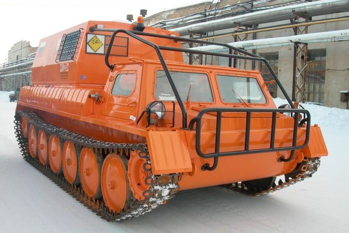 Описание конструкции вездехода ГАЗ-34039