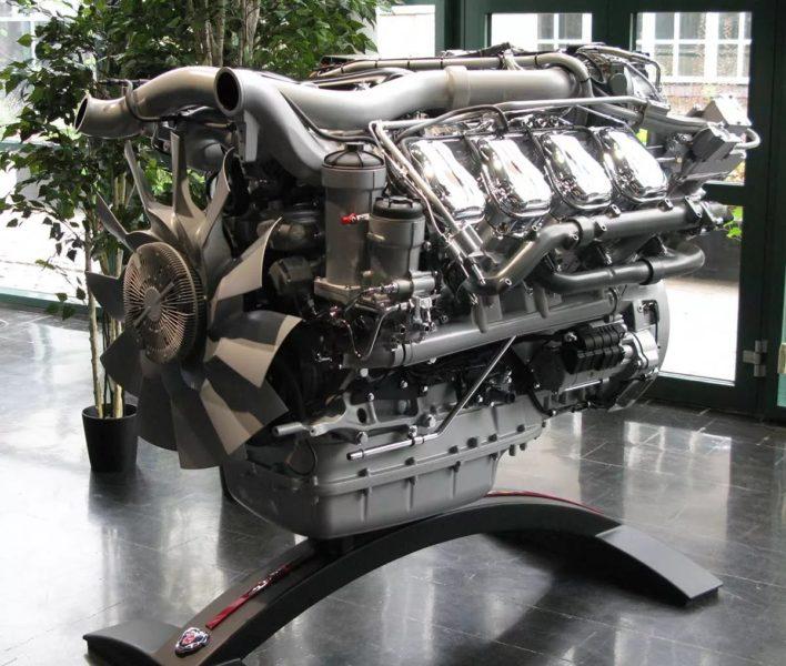 Прочие технические характеристики дизеля DC16 06