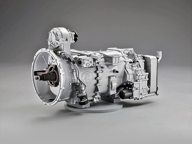 Трансмиссия Scania R500