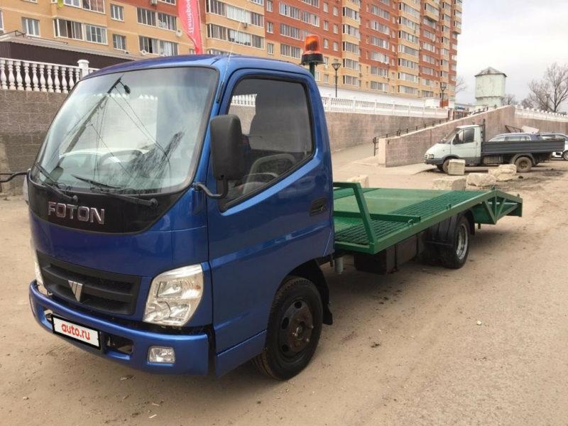 Отзывы владельцев и водителей грузовиков Фотон Оллин-01