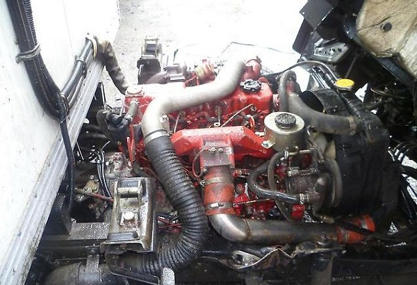 Двигатель автомобиля FAW 1041