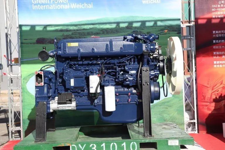 Двигатель самосвала Shacman SX3256DR384