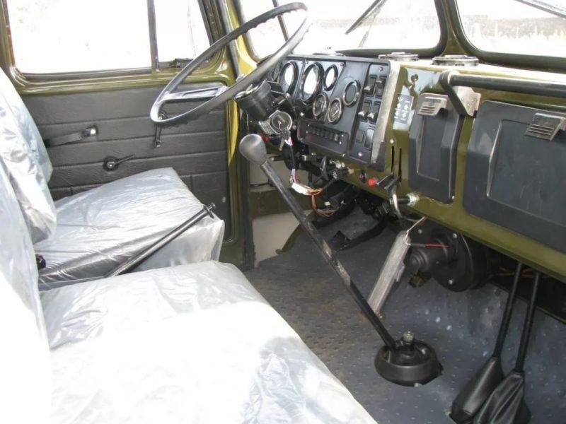 Кабина Урал-583100