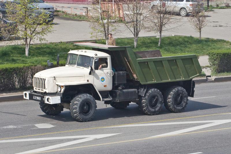 Отзывы о самосвалах Урал-583100