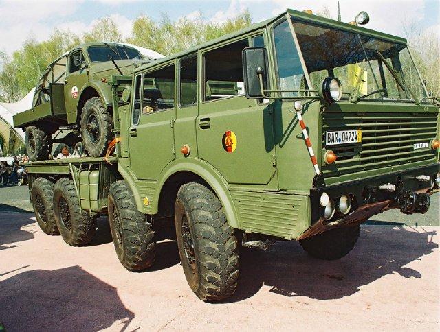 Стоимость подержанного автомобиля Татра-813