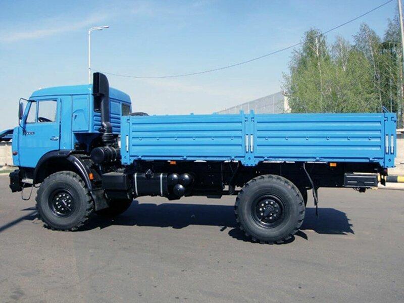 Стоимость подержанного грузовика КамАЗ-4326