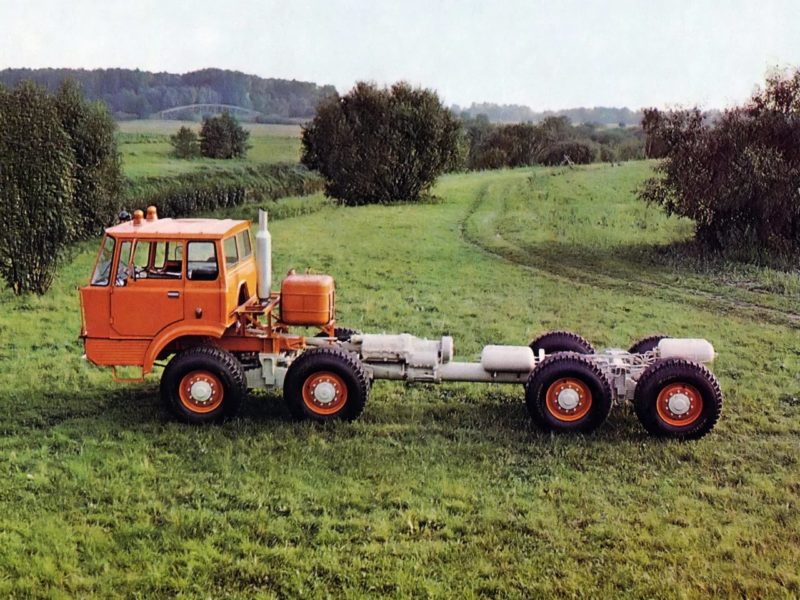 Трансмиссия Tatra-813