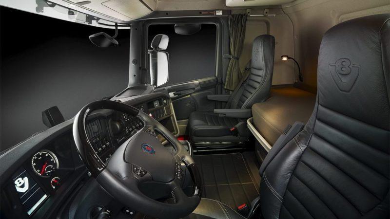 Кабина Scania R730 V8
