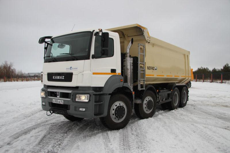Особенности конструкции КамАЗ-65801