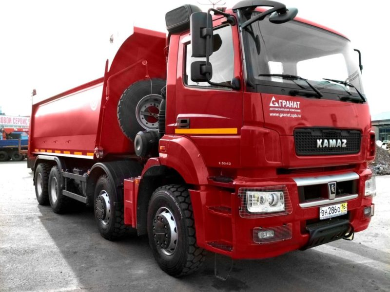 Трансмиссия КамАЗ-65801