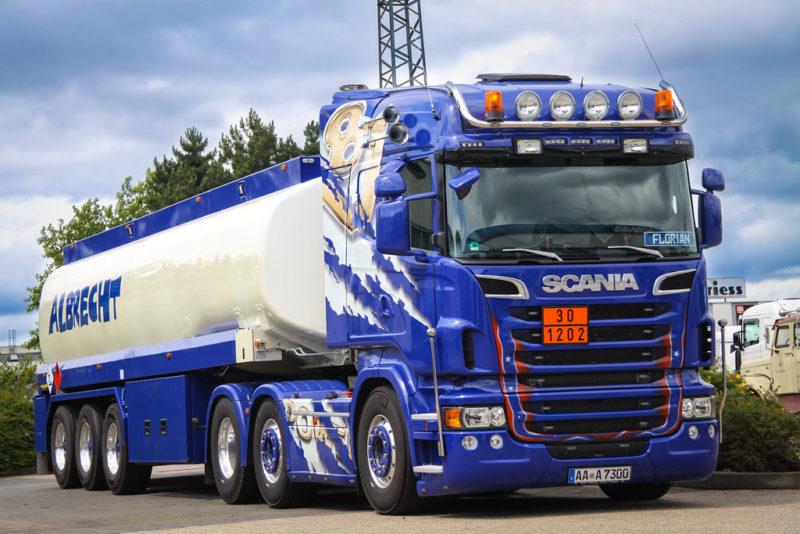 Трансмиссия Scania R730 V8