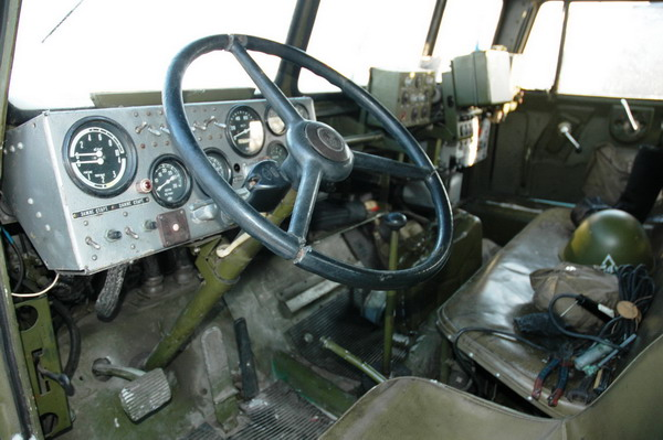 Кабина и грузопассажирский корпус ЗИЛ-Э167-01