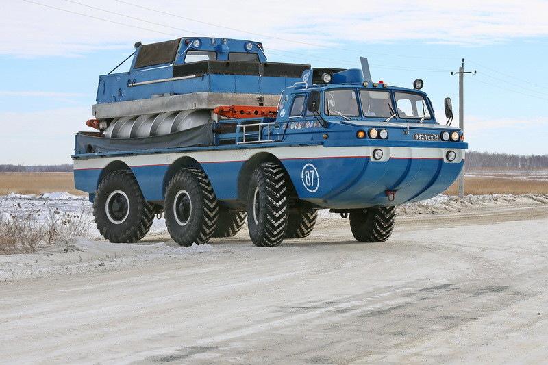 Грузовая платформа (на ЗИЛ-4906)